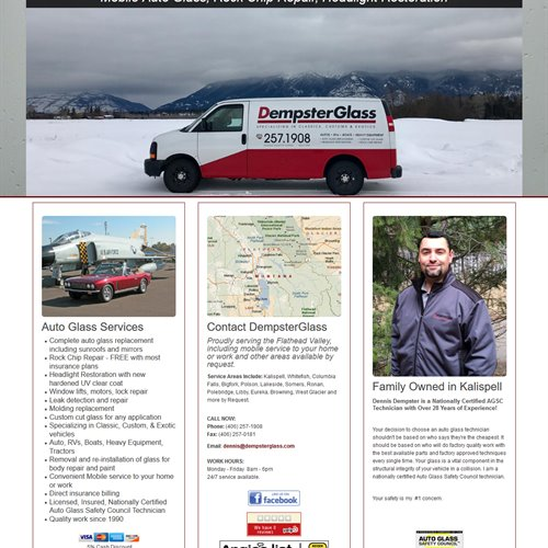 DempsterGlass - full home page