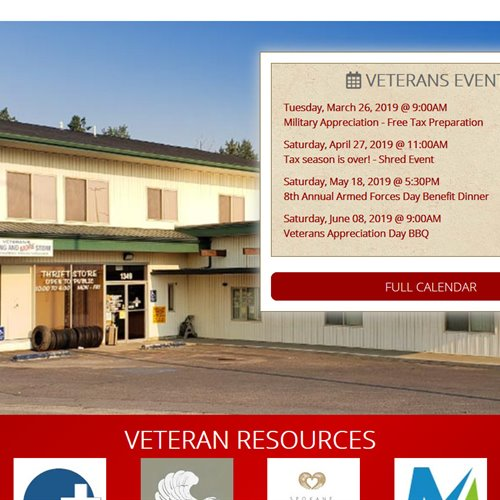 NW MT Veterans Stand Down & Food Pantry  - home page calendar upcoming event list