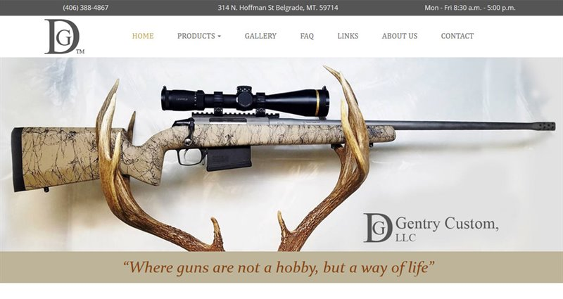 Website Express Kalispell Design Portfolio Gentry Custom, LLC