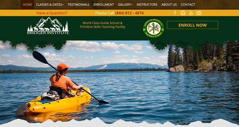 Website Express Kalispell Design Portfolio Bridger Institute