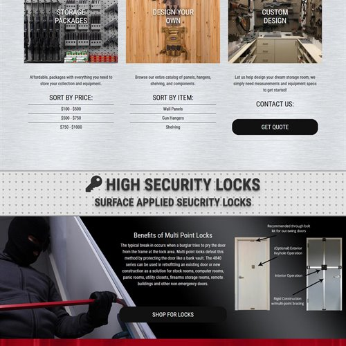 GSS Weapons Storage - full home page
