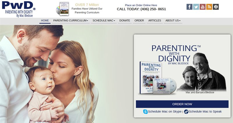 Website Express Kalispell Design Portfolio Parenting With Dignity
