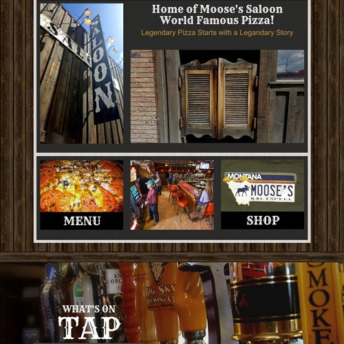 Moose's Saloon - full home page