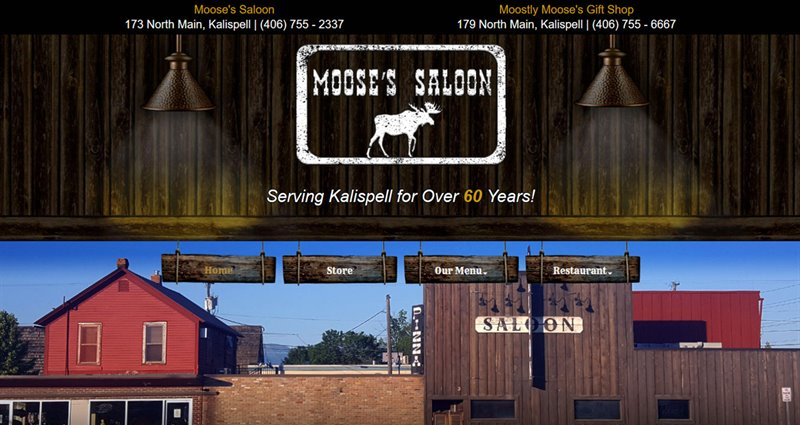 Website Express Kalispell Design Portfolio Moose