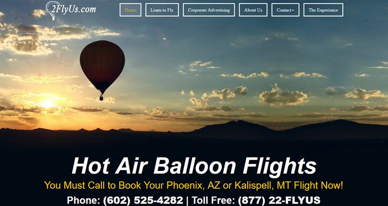 Website Express Kalispell Design Portfolio 2FlyUs