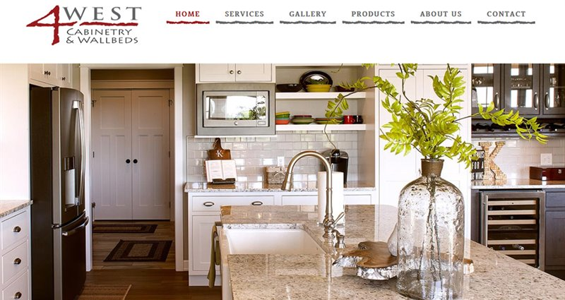 Website Express Kalispell Design Portfolio 4West Cabinetry & Wallbeds