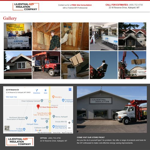 Lilienthal Insulation - image gallery