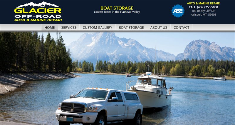 Website Express Kalispell Design Portfolio Glacier Off-Road