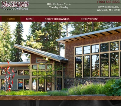 Website Design Portfolio Kalispell MT